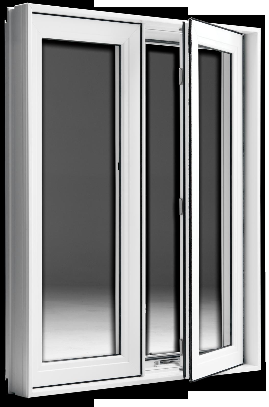 Fenêtre de PVC ou hybrides (aluminium/PVC) Ultima Fenestration